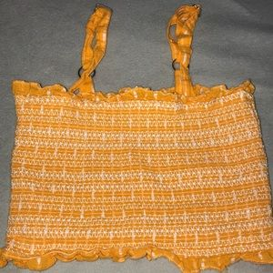 Orange/yellow Crop Top